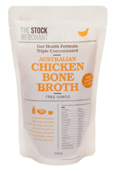 The Stock Merchant THE STOCK MERCHANT AUSTRALIAN CHICKEN BONE BROTH TRIPLE CONCENRATED