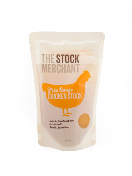 The Stock Merchant THE STOCK MERCHANT FREE RANGE CHICKEN STOCK 500G