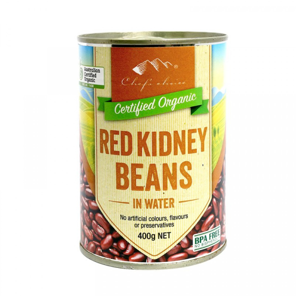 Chef\'s Choice CHEF'S CHOICE RED KIDNEY BEANS 400G