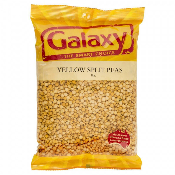 Galaxy GALAXY YELLOW SPLIT PEAS 500G