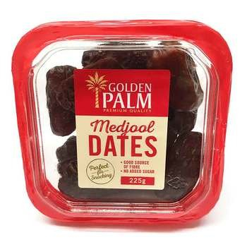 GOLDEN PALM MEDJOOL DATES 225G 00840173050712.