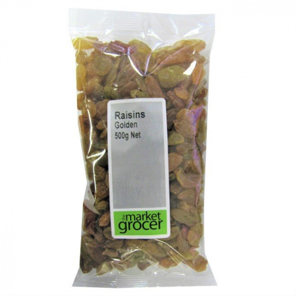 The Market Grocer THE MAKET GROCER GOLDEN RAISINS 375G
