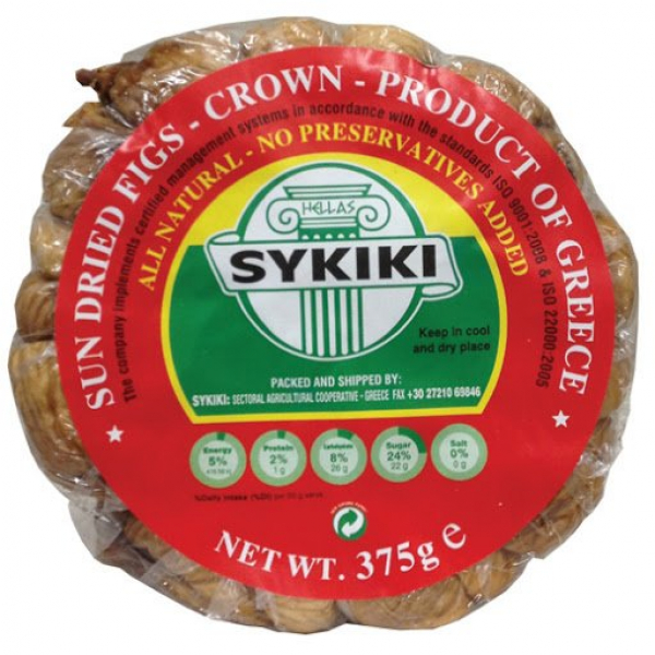 SYKIKI CROWN GREEK FIGS 375G