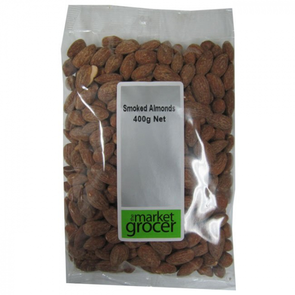 The Market Grocer THE MARKET GROCER SMOKED ALMONDS 400G