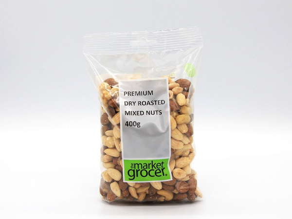 The Market Grocer THE MARKET GROCER PREMIUM DRY ROASTED MIXED NUTS 400G