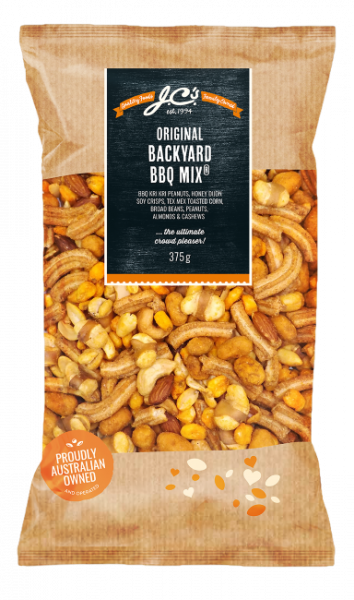 JC\'S Quality Foods JC'S BACKYARD BBQ MIX 375G