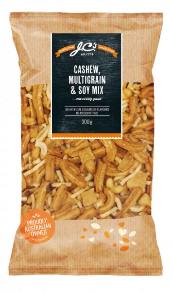 JC\'S Quality Foods JC'S CASHEW MULTIGRAIN & SOY MIX 300G