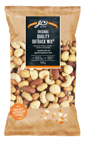 JC'S OUTBACK MIX 500GM 09329000004339.