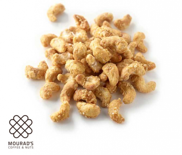 Mourads MOURAD'S HONEY ROASTED CASHEWS 250G