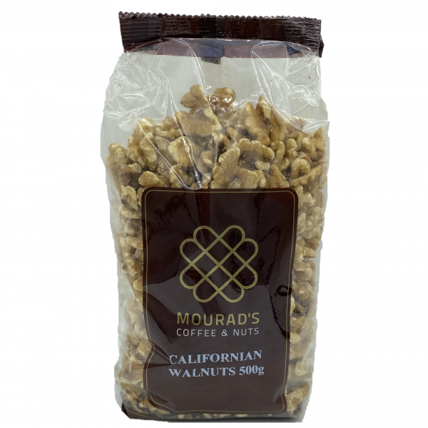 Mourads MOURAD'S RAW WALNUTS 500G