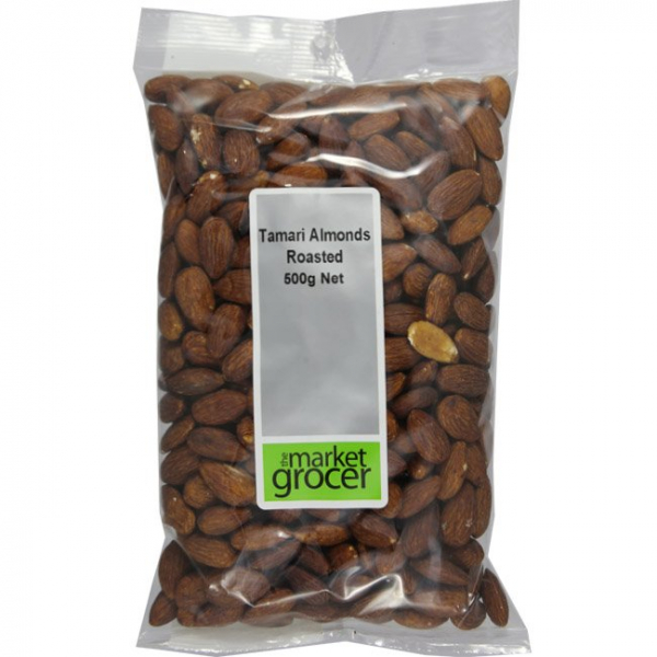 The Market Grocer THE MARKET GROCER TAMARI ALMONDS 500G