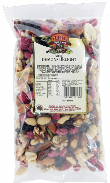 Yummy Snack Foods YUMMY SNACK FOODS DEMONS DELIGHT 500G