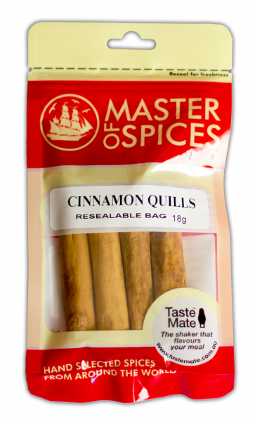 MASTER OF SPICES CINNAMON QUILLS 18G 09335886003885.