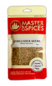 MASTER OF SPICES CORIANDER SEEDS 43G 09335886003205.