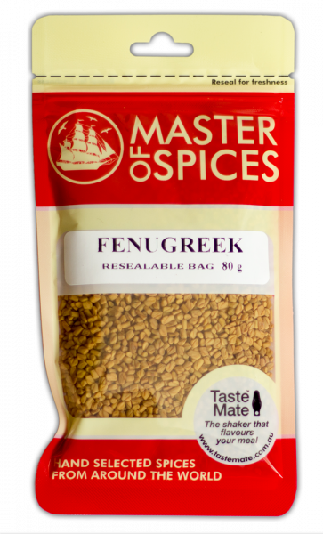 MASTER OF SPICES FENUGREEK 80G 09335886003274.