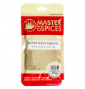 MASTER OF SPICES GROUND WHITE PEPPER 60G 09335886003526.