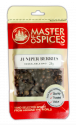MASTER OF SPICES JUNIPER BERRIES 28G 09335886003748.