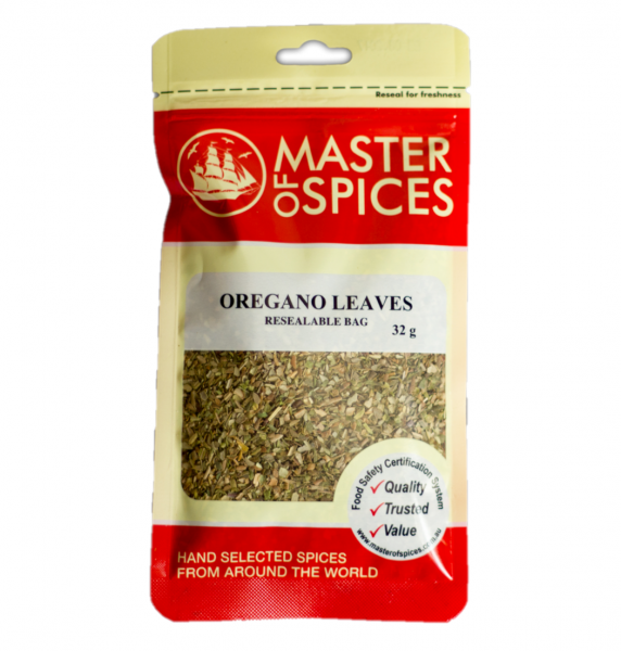 MASTER OF SPICES OREGANO LEAVES VALUE PACK 70G 09335886000259.