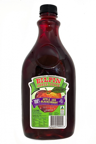 Bilpin Apple Juice BILPIN APPLE BLACKCURRANT JUICE 2LT