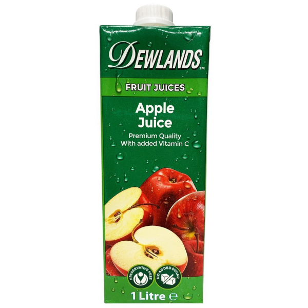 Dewlands DEWLANDS APPLE JUICE 1LT