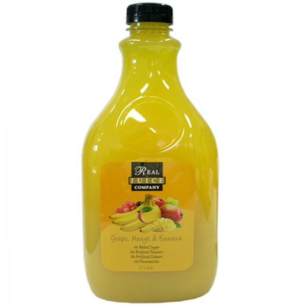 Real Juice Company REAL JUICE COMPANY GRAPE MANGO & BANANA JUICE 2LT