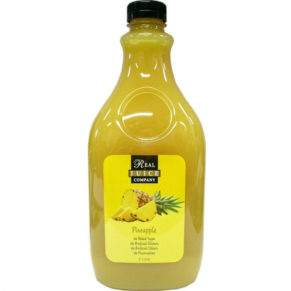Real Juice Company REAL JUICE COMPANY PINEAPPLE JUICE 2LT