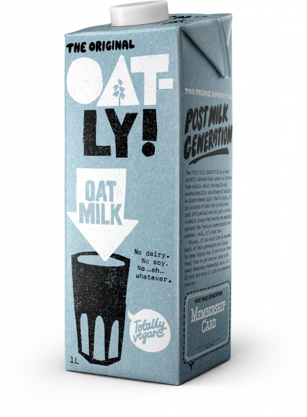 Oatly OATLY ORIGINAL OAT MILK 1LT