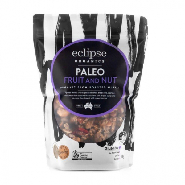 Eclipse Organics ECLIPSE ORGANICS PALEO FRUIT & NUT 450G