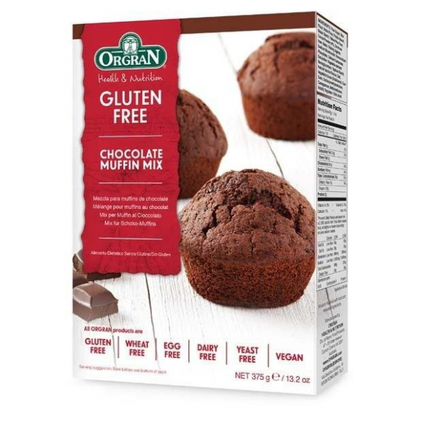 Orgran ORGRAN CHOCOLATE MUFFIN MIX 375G