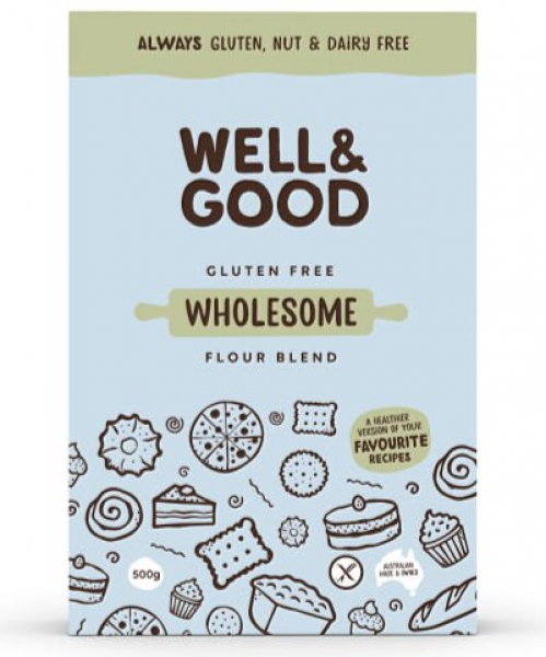 Well & Good WELL & GOOD WHOLESOME FLOUR BLEND GLUTEN FREE 400G
