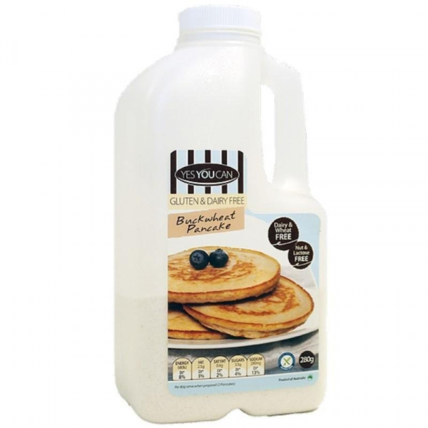 Yes You Can YES YOU CAN BUCKWHEAT PANCAKE MIX 280G