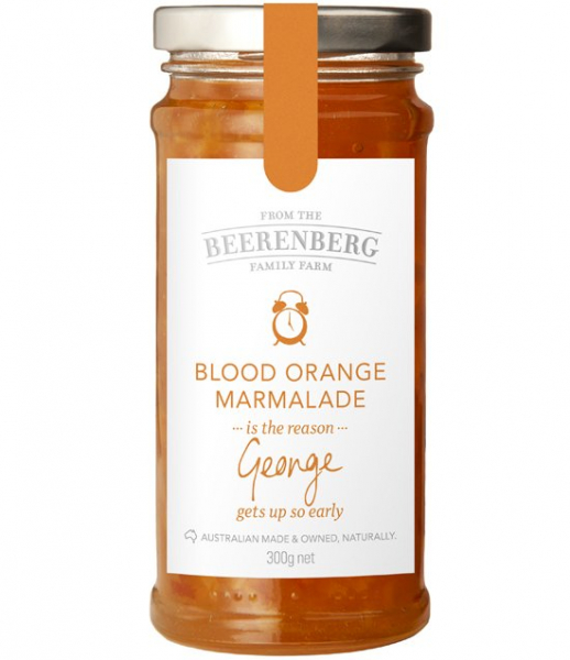 Beerenberg BEERENBERG BLOOD ORANGE MARMALADE 300G