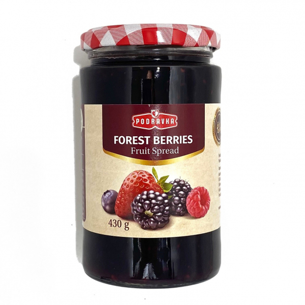 Podravka PODRAVKA FOREST BERRIES JAM 430G