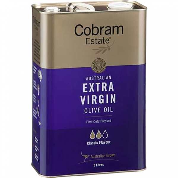 Cobram Estate COBRAM ESTATE EXTRA VIRGIN OLIVE OIL FRESH & FRUITY 3LT