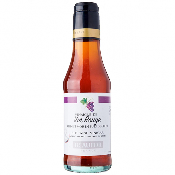 Beaufor BEAUFOR RED WINE VINEGAR 250ML