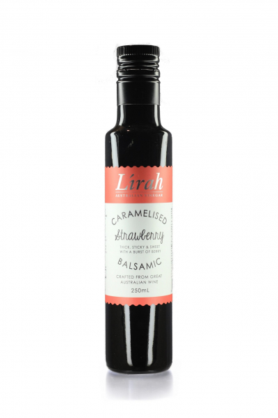 LIRAH STRAWBERRY CARAMELISED BALSAMIC VINEGAR 250ML