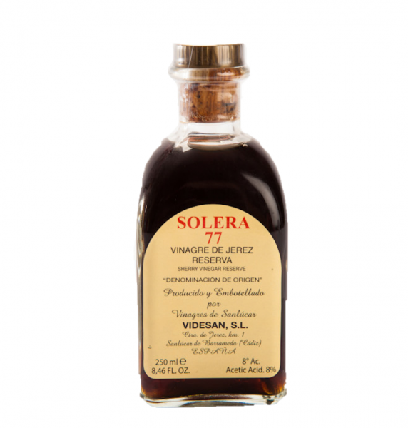 VIDESAN SOLERA 77 SHERRY VINEGAR RESERVA 250ML