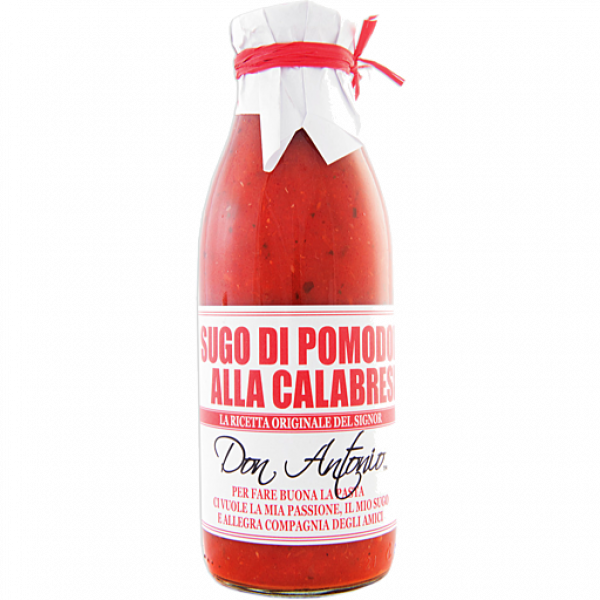 DON ANTONIO CALABRESE HEAT & SERVE PASTA SAUCE 500G 08033100273366.