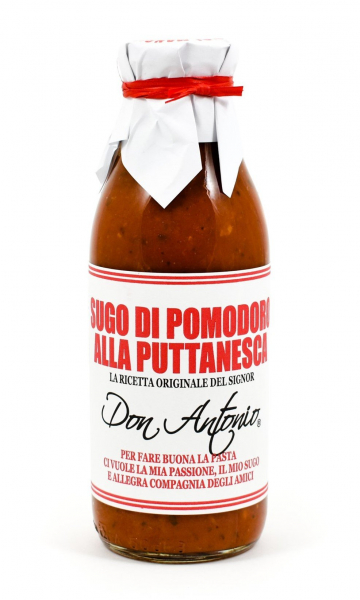 Don Antonio Pasta Sauce DON ANTONIO PUTTANESCA HEAT & SERVE PASTA SAUCE 500G