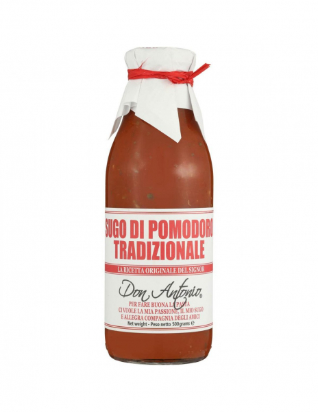 Don Antonio Pasta Sauce DON ANTONIO TRADITIONAL HEAT & SERVE PASTA SAUCE 500G