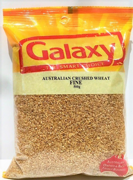 Galaxy GALAXY CRUSHED WHEAT 500G