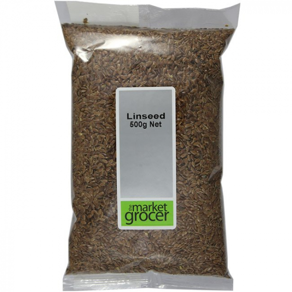 The Market Grocer THE MARKET GROCER LINSEED 500G