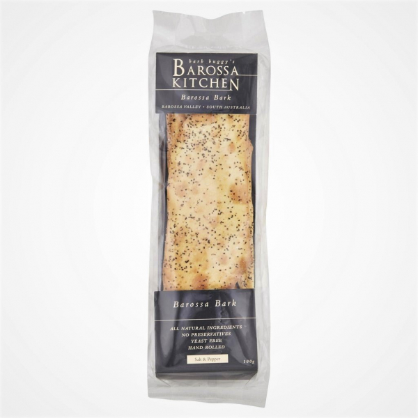 Barossa Kitchen BAROSSA KITCHEN BAROSSA BARK SALT & PEPPER 100G