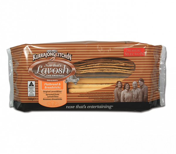 Kurrajong Kitchen KURRAJONG KITCHEN FLATBREAD & BREADSTICKS 180G
