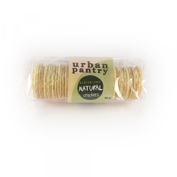 Urban Pantry URBAN PANTRY GLUTEN FREE NATURAL CRACKERS 100G