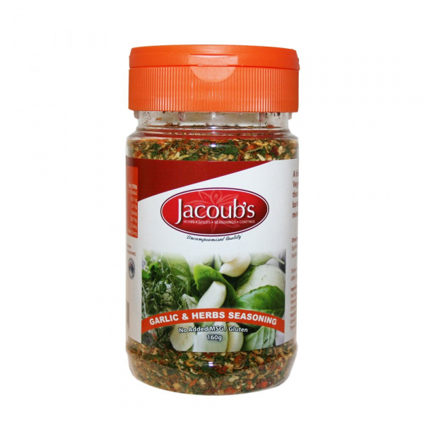 Jacoub\'s JACOUB'S GARLIC & HERBS SEASONING 160G