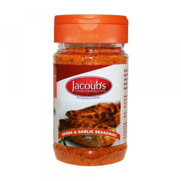 Jacoub\'s JACOUB'S HERB & GARLIC SEASONING 220G