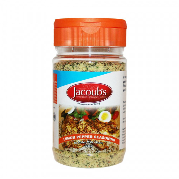 Jacoub\'s JACOUB'S LEMON PEPPER SEASONING 240G