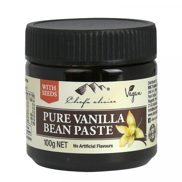 Chef\'s Choice CHEF'S CHOICE VANILLA BEAN PASTE 100G