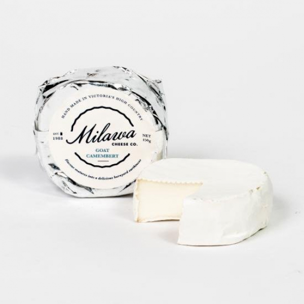 Milawa MILWA GOAT CHEESE CAMEMBERT 150G